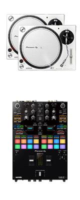 ■ご予約受付■ Pioneer DJ(パイオニア) / PLX-500-W DJM-S7セット【Serato DVS、rekordbox DVS対応】 9大特典セット