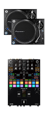 Pioneer DJ(パイオニア) / PLX-1000 DJM-S7セット【Serato DVS、rekordbox DVS対応】 9大特典セット