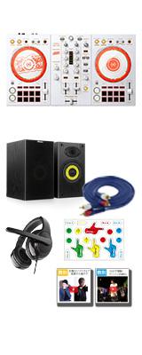 Pioneer DJ(パイオニア) /  D4DJ First Mix Happy Around! コラボレーションモデル DDJ-400-HA +5000円スピーカーセット 【rekordbox dj 無償】【数量限定モデル】 6大特典セット