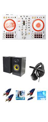 Pioneer DJ(パイオニア) /  D4DJ First Mix Happy Around! コラボレーションモデル DDJ-400-HA 激安初心者Bセット【rekordbox dj 無償】【数量限定モデル】 9大特典セット