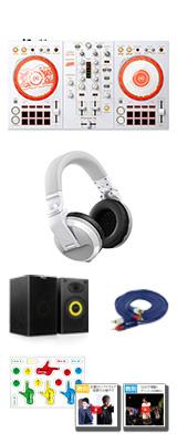 Pioneer DJ(パイオニア) / D4DJ First Mix Happy Around! コラボレーションモデル DDJ-400-HA 明石真秀ヘッドホン風セット 【rekordbox dj 無償】【数量限定モデル】 7大特典セット