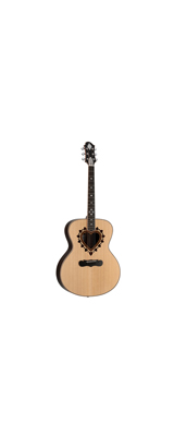 Zemaitis(ゼマティス) / AAJ-3000HW-E / ジャンボ・ボディ / 木象嵌 / アコースティック ギター 【納期はお問い合わせください】