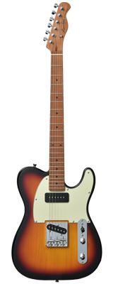 【新品】Bacchus(バッカス) / BTE-2-RSM/M 3TS エレキギター ローステッドメイプルネック仕様 数量限定おまけ付き