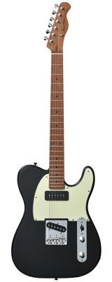 【新品】Bacchus(バッカス) / BTE-2-RSM/M BLK エレキギター ローステッドメイプルネック仕様 数量限定おまけ付き