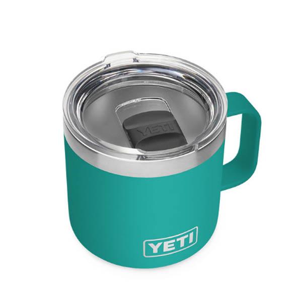 YETI COOLERS(イエティクーラーズ) / Rambler ランブラー 14oz / AQUIFER BLUE / タンブラー マグカップ アウトドア 【海外限定・直輸入品】