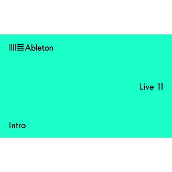ableton(エイブルトン) / Live 10 Intro (ダウンロード版用シリアルコード記載用紙のみ) - DAWソフトウェア -