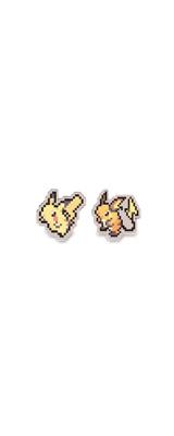 Pokemon Center(ポケモンセンター) / Pikachu & Raichu / ピカチュウ ライチュウ / ピン バッジ 【海外限定・輸入品】