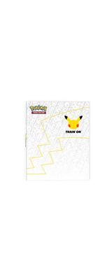 Pokemon Center(ポケモンセンター) / ピカチュウ 特大カード付き / TCG 25周年記念 ジャンボ バインダー 【輸入品】