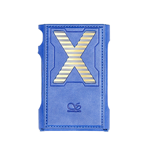 SHANLING(シャンリン) / M3X Case Blue / M3X用 PUレザー ケース カバー 【本体:3月26日発売】