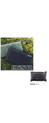 GIMMICK(ギミック) / GM-ITP08 BK (ブラック) インフレーターピロー 寝具 枕  【アウトドア・キャンプ・旅行・非常時・災害・防災】