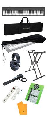 【純正オプションフルセット】  Roland(ローランド) / FP-30X-BK / ポータブル・電子ピアノ  4大特典セット