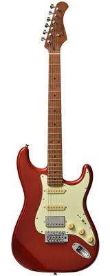 【新品】Bacchus(バッカス) / BST-2-RSM/M CAR エレキギター ローステッドメイプルネック仕様 数量限定おまけ付き