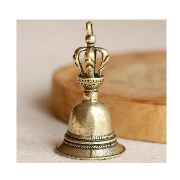 ミニベル 真鍮 アンティーク風 / キーホルダー アクセサリー ペンダント 小物  【輸入品】