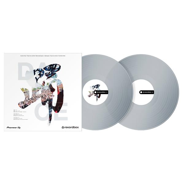 Pioneer DJ(パイオニア) / DANCE (踊) クリア /  RB-VD2-CL / rekordox専用 コントロールバイナル【2枚セット】【5月13日発売】