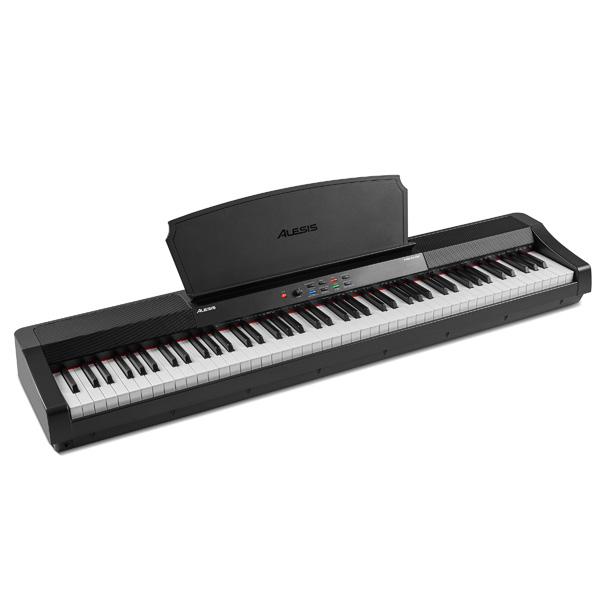 ALESIS(アレシス) / Prestige スピーカー内蔵 88鍵 ハンマーアクション鍵盤 電子ピアノ・MIDIキーボード 【サステインペダル、譜面台 付属】【6月3日(木)発売】