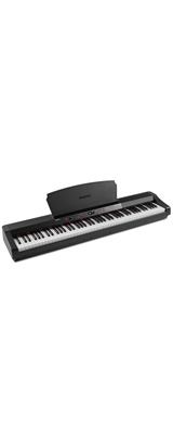ALESIS(アレシス) / Prestige Artist スピーカー内蔵 88鍵 ハンマーアクション鍵盤 電子ピアノ・MIDIキーボード 【サステインペダル、譜面台 付属】 2大特典セット