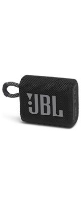 JBL(ジェービーエル) / GO 3 (BLACK) Bluetooth対応 ワイヤレススピーカー / USB-C充電 / IP67防塵防水仕様 / パッシブラジエーター搭載