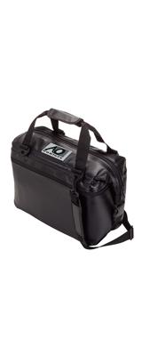 AO Coolers / カーボン Carbon 12パック / ブラック / ソフトクーラー クーラーボックス  (カーボンシリーズ) 【輸入品】