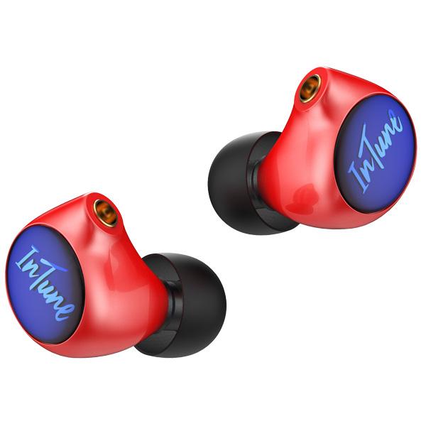 iBasso Audio(アイバッソ オーディオ) / IT01X (RED) MMCX コネクタ対応 ダイナミック型 インイヤーモニターイヤホン 1大特典セット