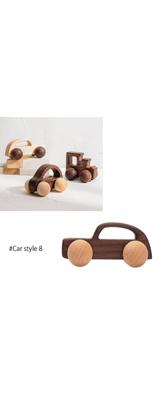 ■ご予約受付■ 木製 知育 車 おもちゃ 北欧 ギフト (Car style 8のみ1個)