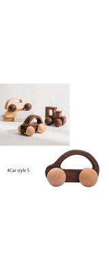 ■ご予約受付■ 木製 知育 車 おもちゃ 北欧 ギフト (Car style 5のみ1個)