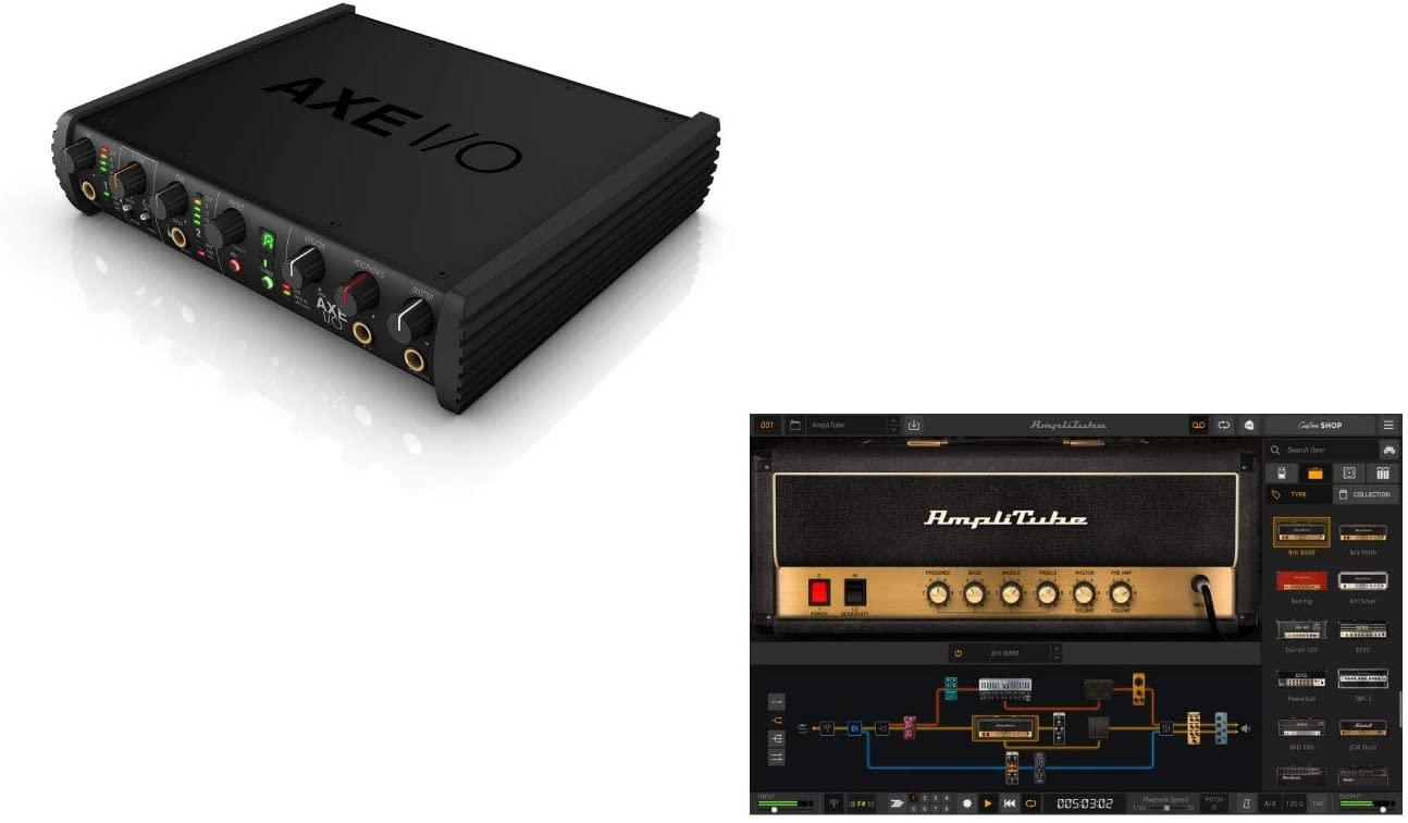 【特別パッケージ】IK Multimedia(アイケーマルチメディア) / AXE I/O SOLO+Amplitube 5 Max bundle
