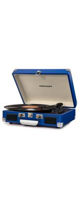 Crosley(クロスレイ) / CR8005D-BL / Cruiser Deluxe (Blue) / Bluetooth対応 ポータブル レコードプレイヤー 【輸入品】