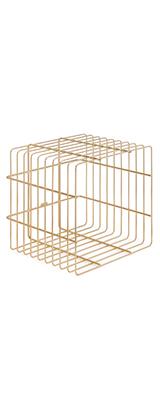 ZOMO(ゾモ) / VS-Rack Cube (0030103192) / gold レコード 収納ラック