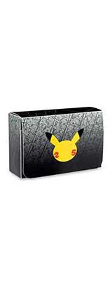 Pokemon Center (ポケモンセンター) / TCG 25周年 / カードゲーム ダブルデッキケース  【海外限定・輸入品】