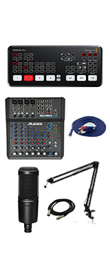 【audio-technicaマイク配信セット】 Blackmagic Design / ATEM Mini Pro / エンコーダー内蔵 ライブプロダクション スイッチャー