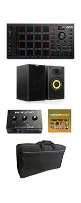 【音楽制作セット】 AKAI(アカイ) / MPC Studio / MPCソフトウェア専用 コントローラー 【本体:9月30日発売予定】 1大特典セット