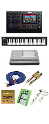 【49鍵盤セット】 AKAI(アカイ) / MPC LIVE2 [スタンドアローン型MPC] 充電式バッテリー・スピーカー内蔵 /  ドラムマシン サンプラー 大特典セット