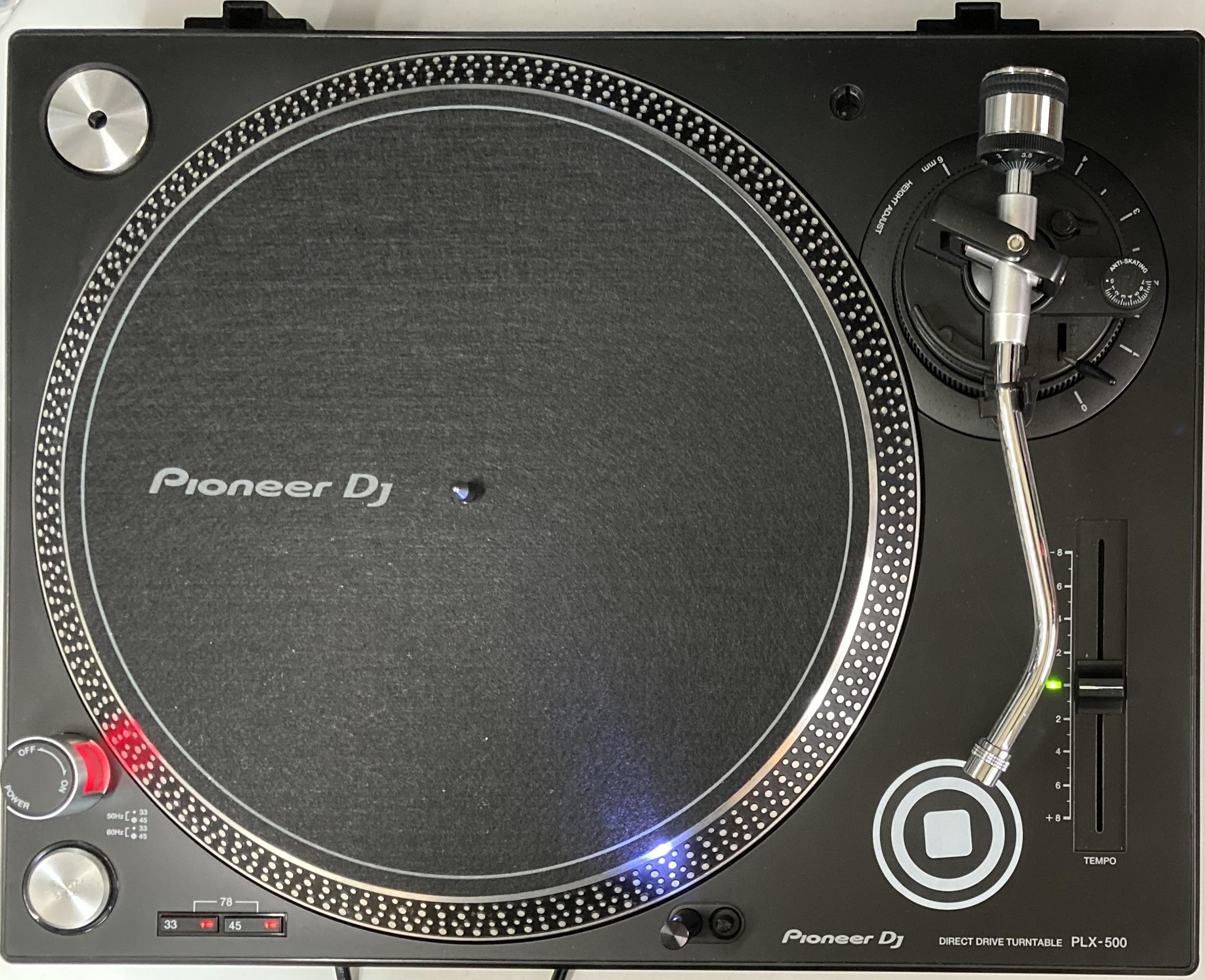 Pioneer DJ PLX-500-K TT-0111【メンテナンス済み 中古6ヶ月保証】