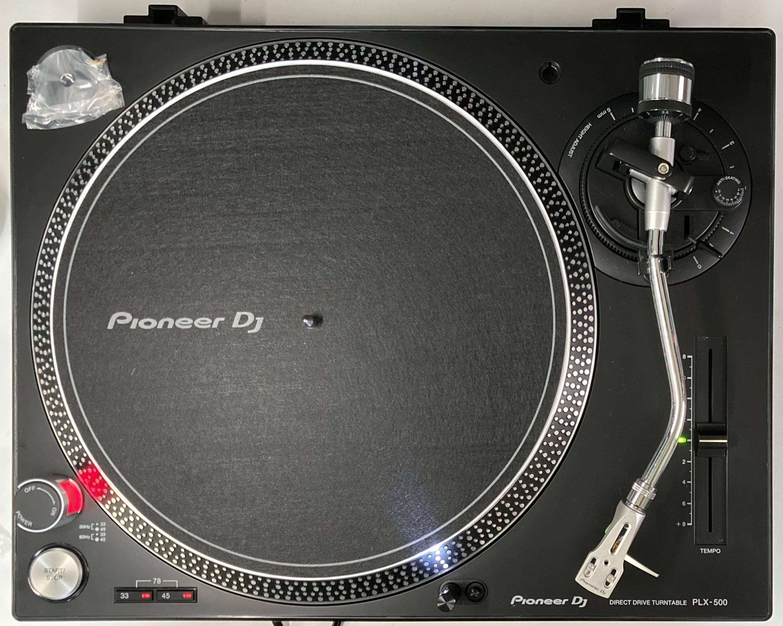 Pioneer DJ PLX-500-K TT-0113【メンテな済中古6ヶ月保証】