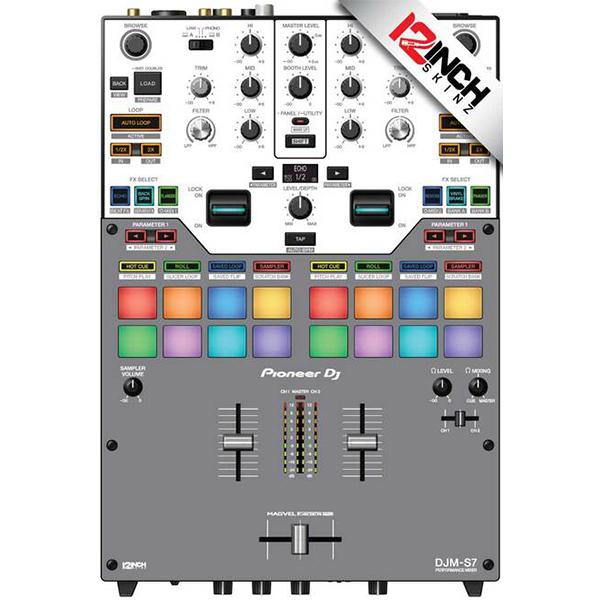 ■ご予約受付■ 12inch SKINZ / GRY / Pioneer DJM-S7用 スキン