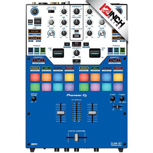 ■ご予約受付■ 12inch SKINZ / BLUE / Pioneer DJM-S7用 スキン