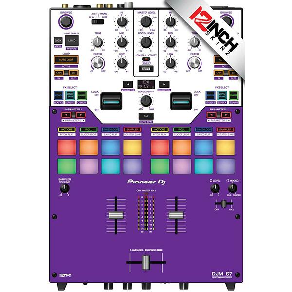 ■ご予約受付■ 12inch SKINZ / PURP / Pioneer DJM-S7用 スキン