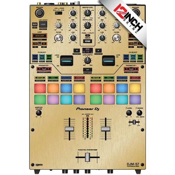 ■ご予約受付■ 12inch SKINZ / BR/GOLD / Pioneer DJM-S7用 スキン