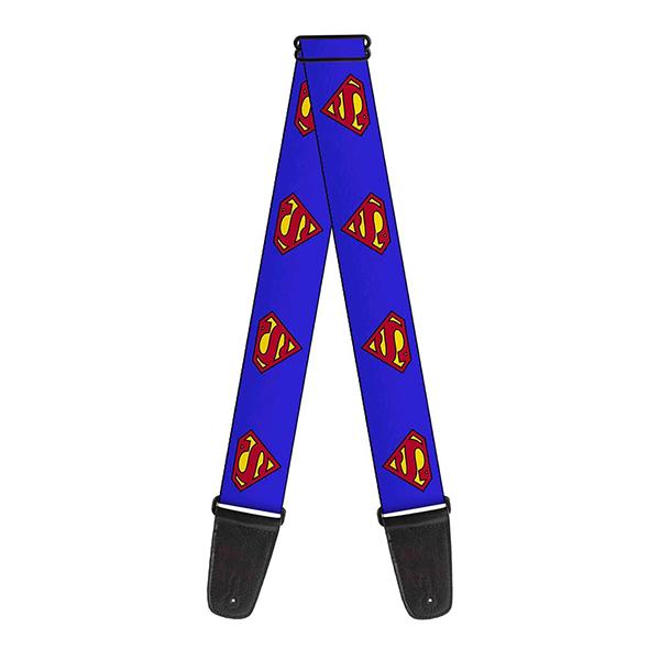 Buckle Down(バックルダウン) / Superman スーパーマン 【MARVEL マーベル公式ライセンス品】 ギターストラップ