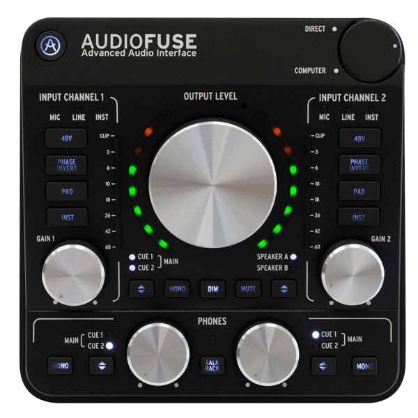 Arturia(アートリア) / Audio Fuse (ディープ・ブラック) - オーディオ・インターフェース - -