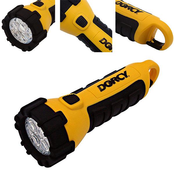Dorcy(ドルシー) / LEDライト (ウォータープルーフ・電池付)