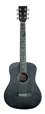 ANTIQUE NOEL(アンティークノエル) / AM-0 BLK (ブラック) ミニアコースティックギター 【ギグバック付属】