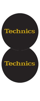 Technics(テクニクス) / Slipmats (Gold Foil) - スリップマット (2枚/1ペア) -