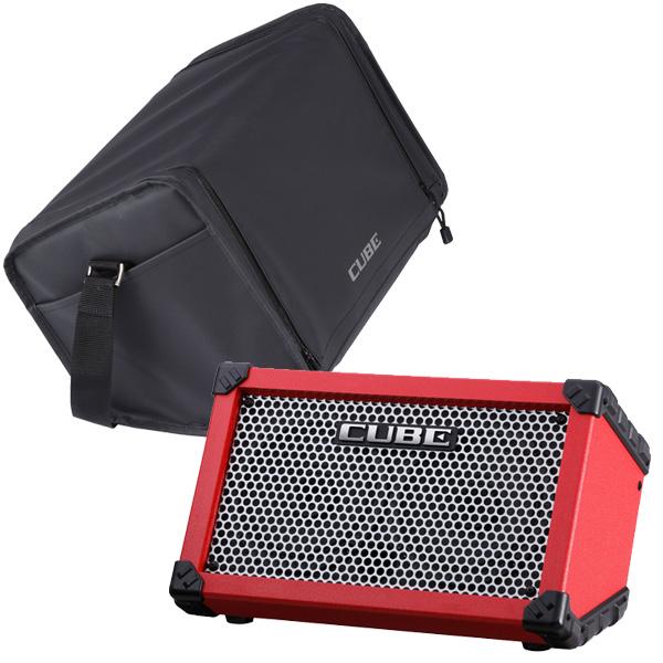 Roland(ローランド) / CUBE STREET (RED)  - 電池駆動対応・ギター/パフォーマンス用アンプ -