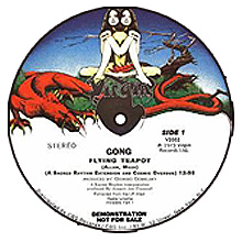 Joe Claussell / Gong - Flying Teapot (A Sacred Rhythm Extension And Cosmic Overdub)