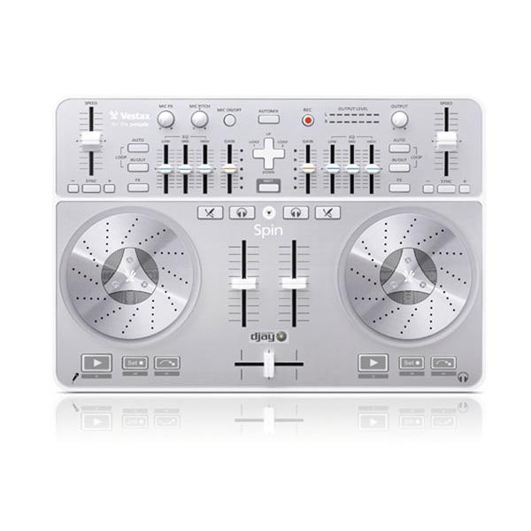 【限定3台】Vestax(ベスタックス) / Spin PCDJコントローラー 【djay3.0バンドル】『セール』『DJ機材』 大特典セット