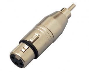 KC / CA312  XLR(F)/RCA(M) -変換コネクター-