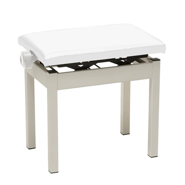 Korg(コルグ) / PC-300WH (ホワイト) - 高低自在椅子(4本足) -