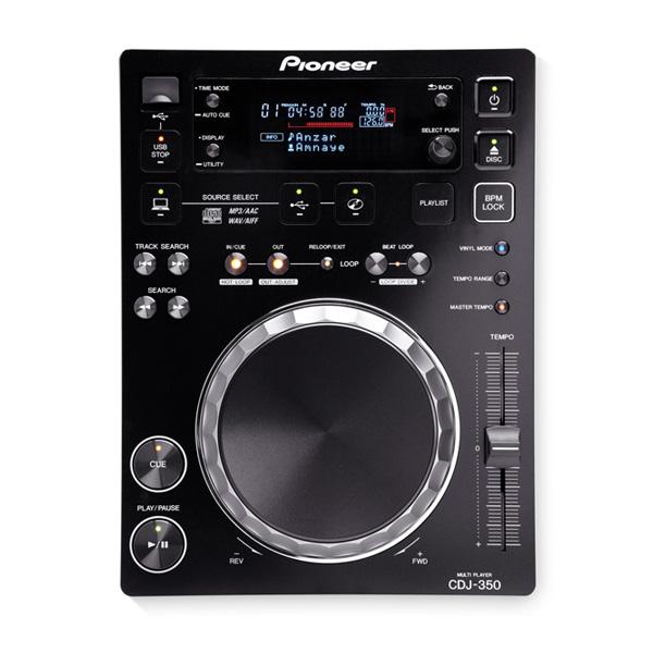 Pioneer(パイオニア) / CDJ-350 - USB搭載・スクラッチ・USB・rekordbox対応 -