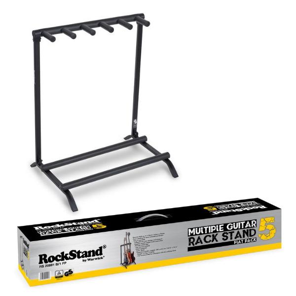 【限定2台】Warwick(ワーウィック) / RockStand 5 GUITAR  FLAT PACK 20881 【5本立てギタースタンド】【美品/アウトレット品/メーカー保証付】